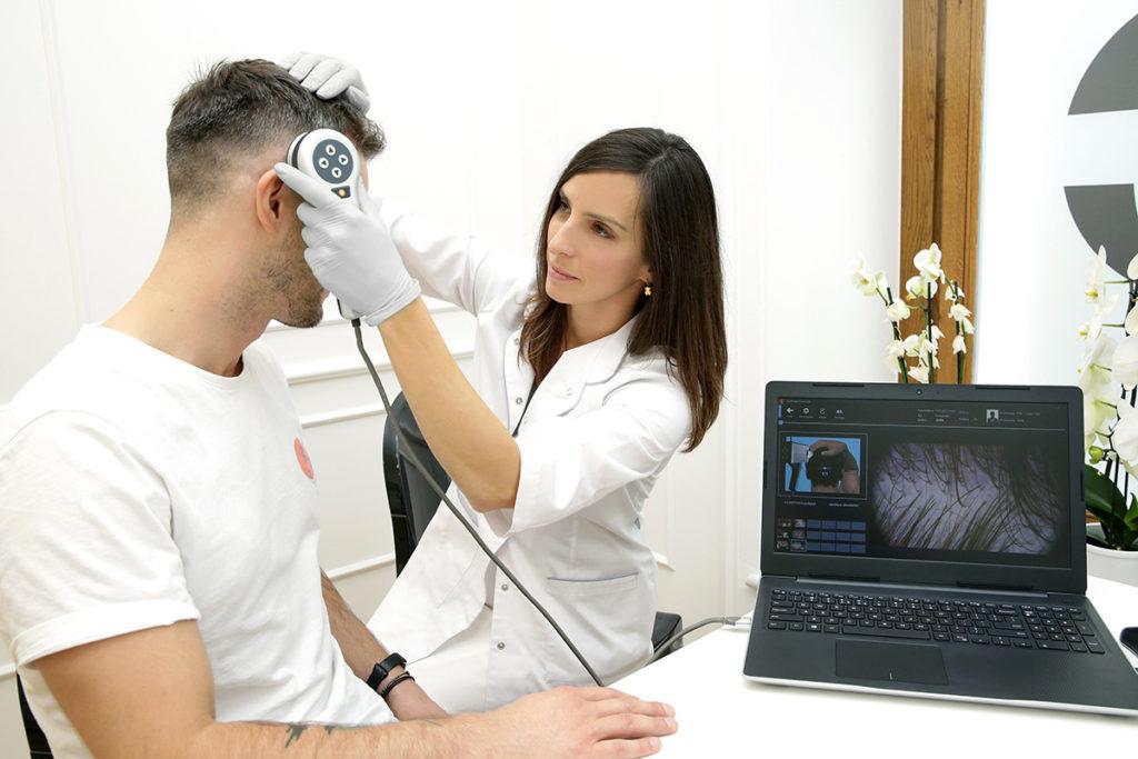 trichoskopia WARSZAWA
