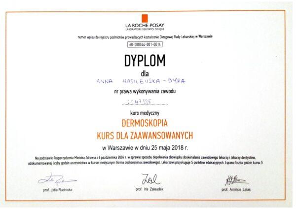 dr Anna Wasilewska - Byra dermoskopia