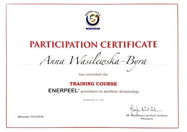 dr Anna Wasilewska - Byra enerpeel